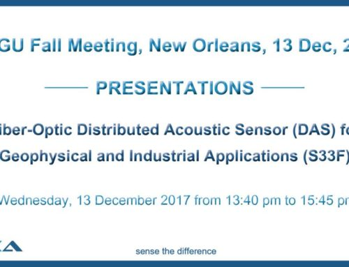 Silixa to present at AGU's Fall Meeting in New Orleans, Louisiana on 13 December 2017