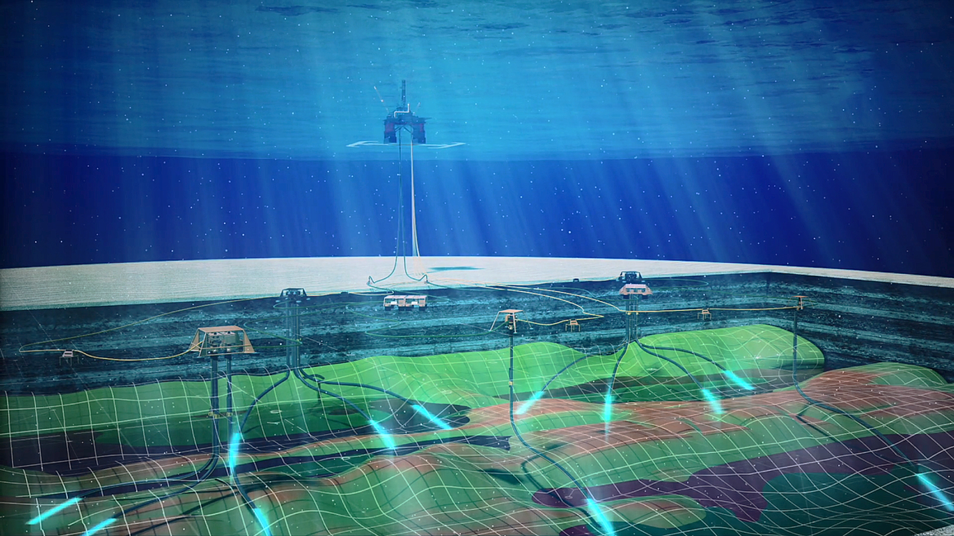 DAS installation on BP's Atlantis field