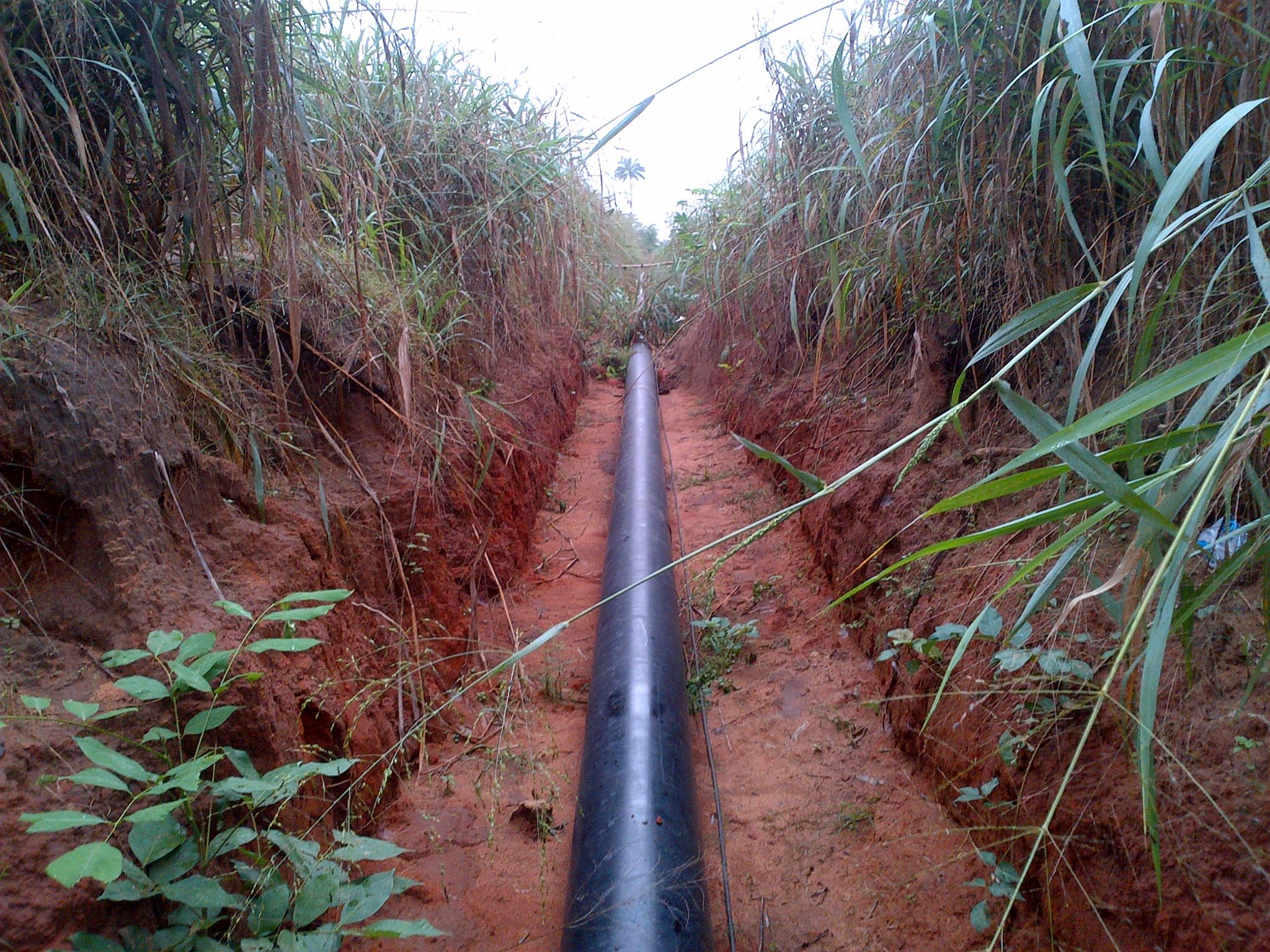 leak detection - pipeline surveillance