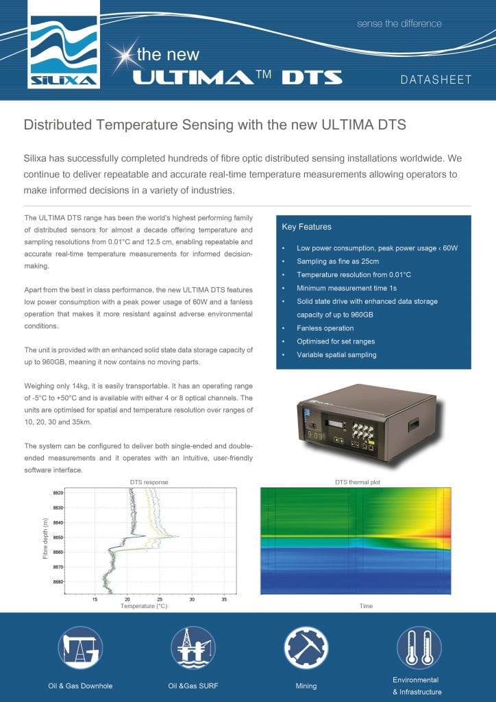 Distributed Temperature Sensing, ULTIMA DTS